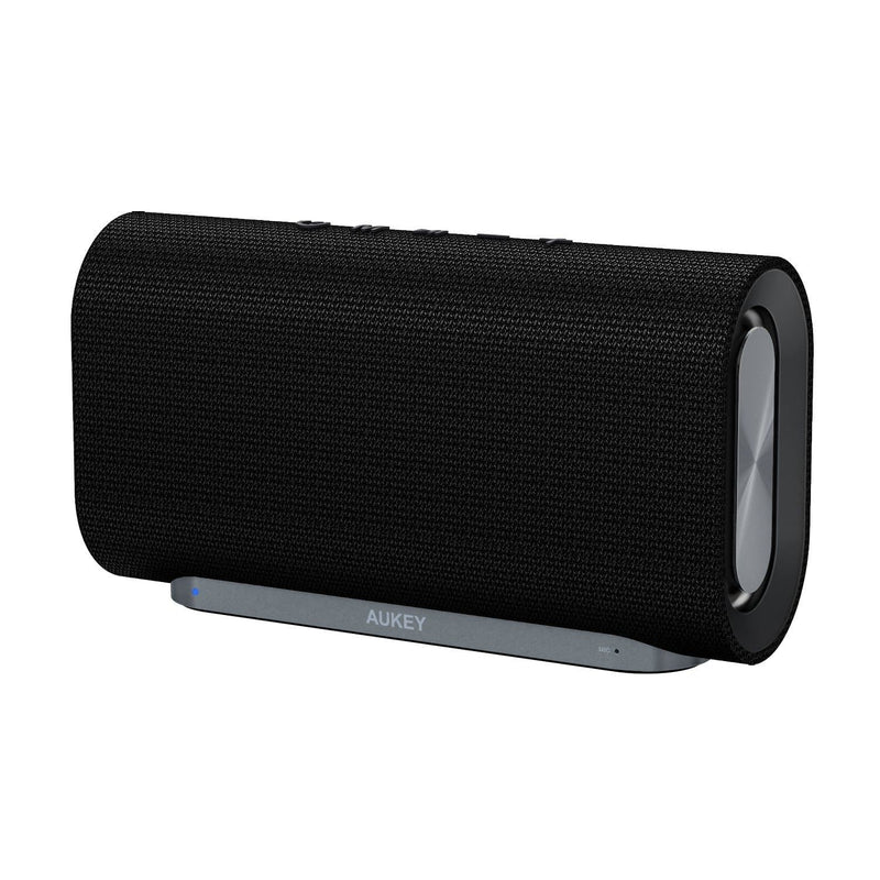 AUKEY SK-M30 Eclipse Bluetooth Speaker Enhanced Bass With Dual Passive Radiators - Aukey Malaysia Official Store