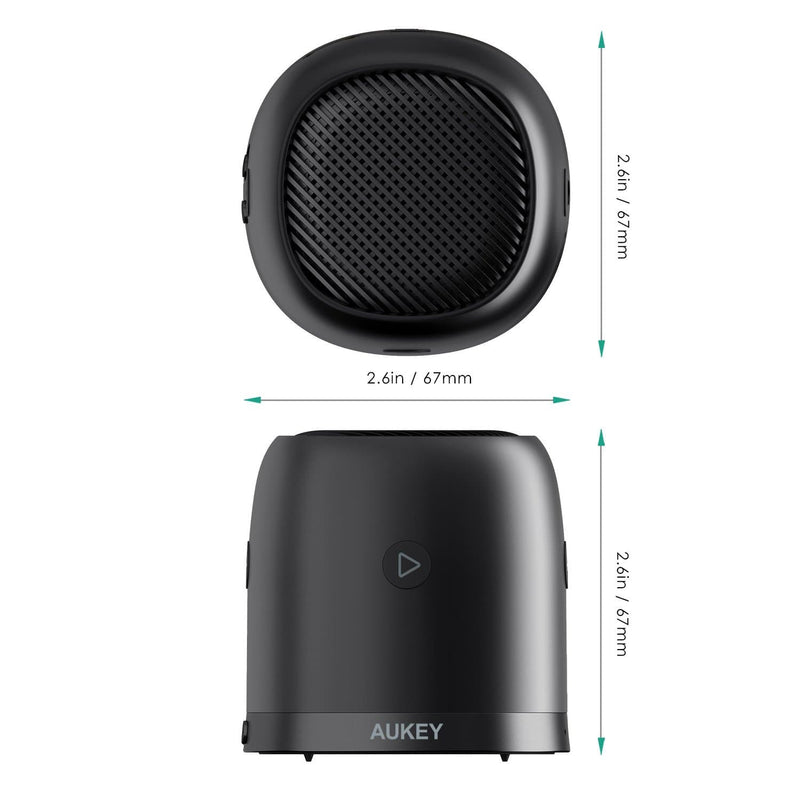 AUKEY SK-M31 Wireless Mini Bluetooth Speaker with Enhanced Bass - Aukey Malaysia Official Store