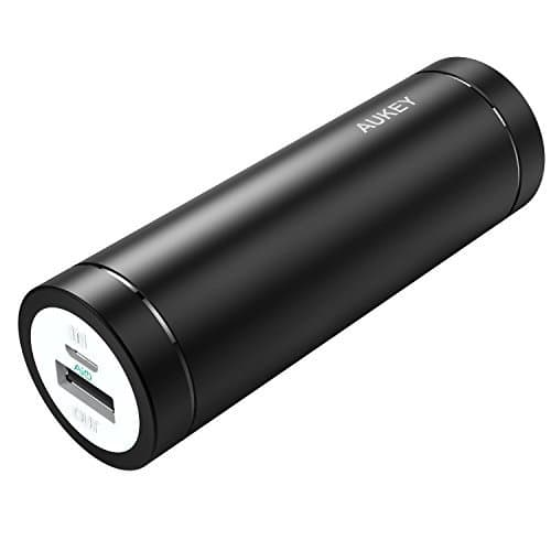 AUKEY PB-N37 5000mAh Mini Ultra Portable Feather weight Power Bank - Aukey Malaysia Official Store