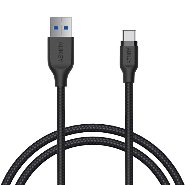 CB-AC1 Braided Nylon USB 3.1 USB A To USB C Cable 1.2 meter