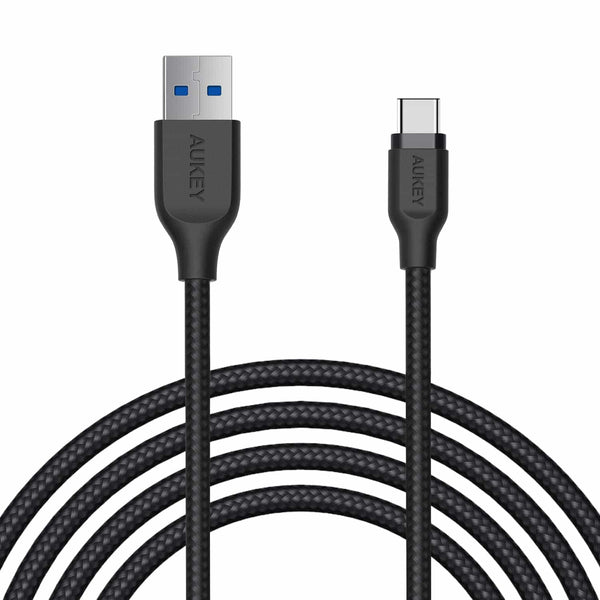 CB-AC2 Braided Nylon USB 3.1 USB A To USB C Cable 2 meter