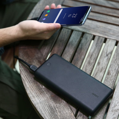 AUKEY PB-XD26 63W 26800mAh Power Delivery 3.0 USB C Power Bank With Quick Charge 3.0 - Aukey Malaysia Official Store