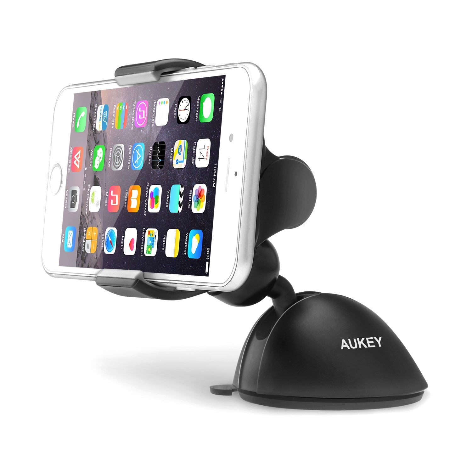 HD-C11 Windshield Dashboard 360 Degree Rotating Universal Car Mount Holder