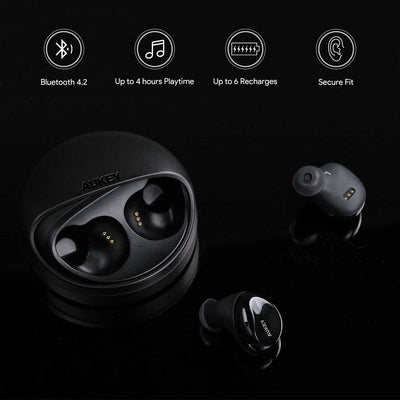 EP-T1 TWS True Wireless Stereo Earbuds With Charging Case