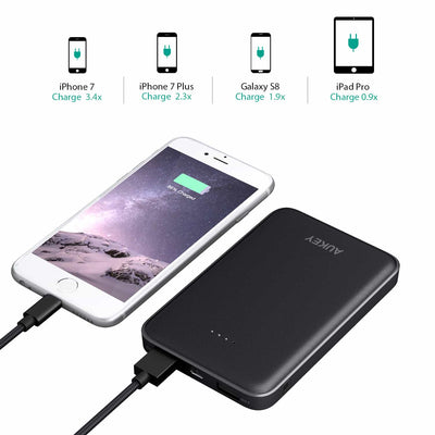 PB-N50 10000mAh Compact Dual Port AiPower Power Bank
