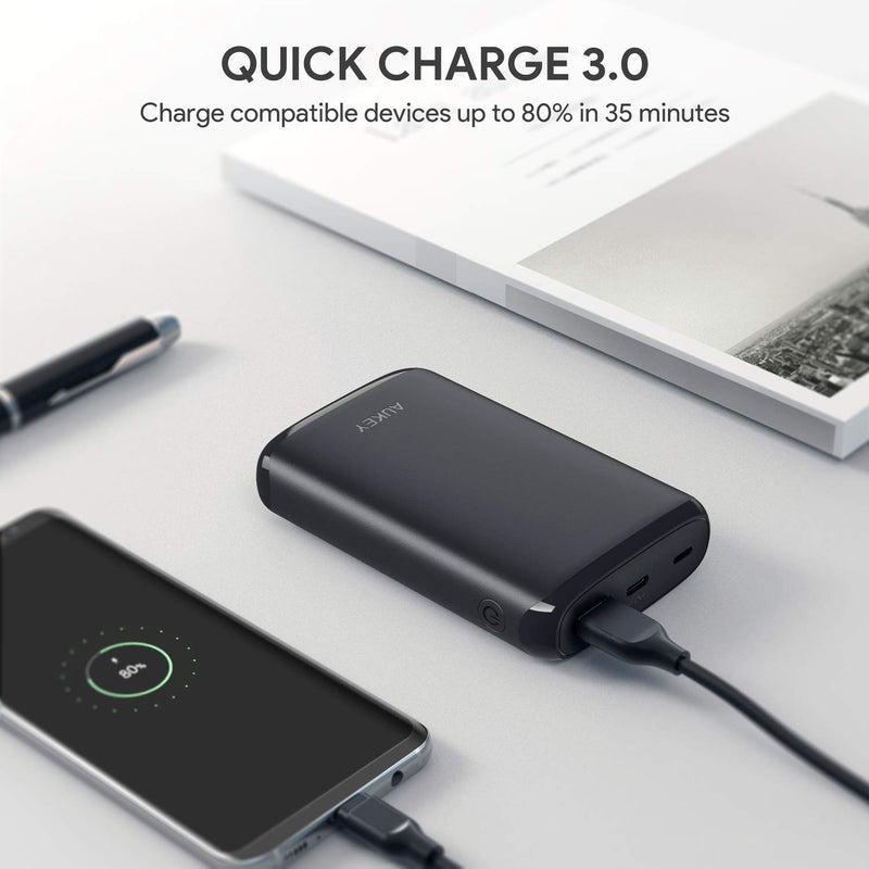 PB-Y22 18W Power Delivery USB C 10000mAh Power Bank With Quick Charge 3.0