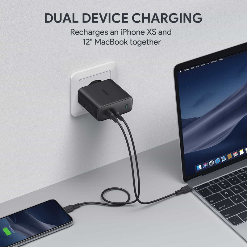 PA-D5 63W USB C Power Delivery  Charger with Dynamic Detect -EU Plug