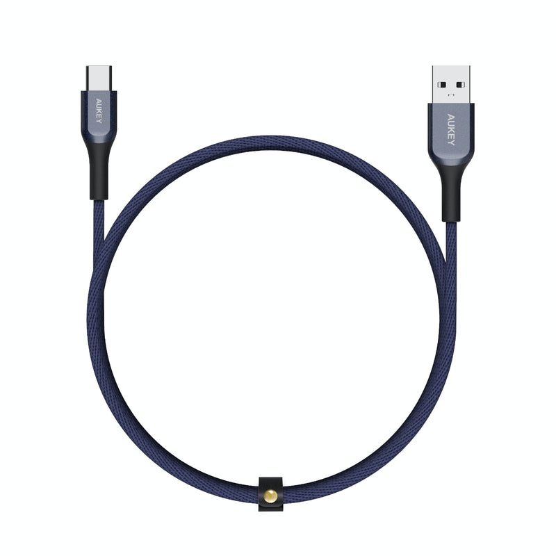 CB-AKC2 USB A To USB C Quick Charge 3.0 Kevlar Cable - 2M