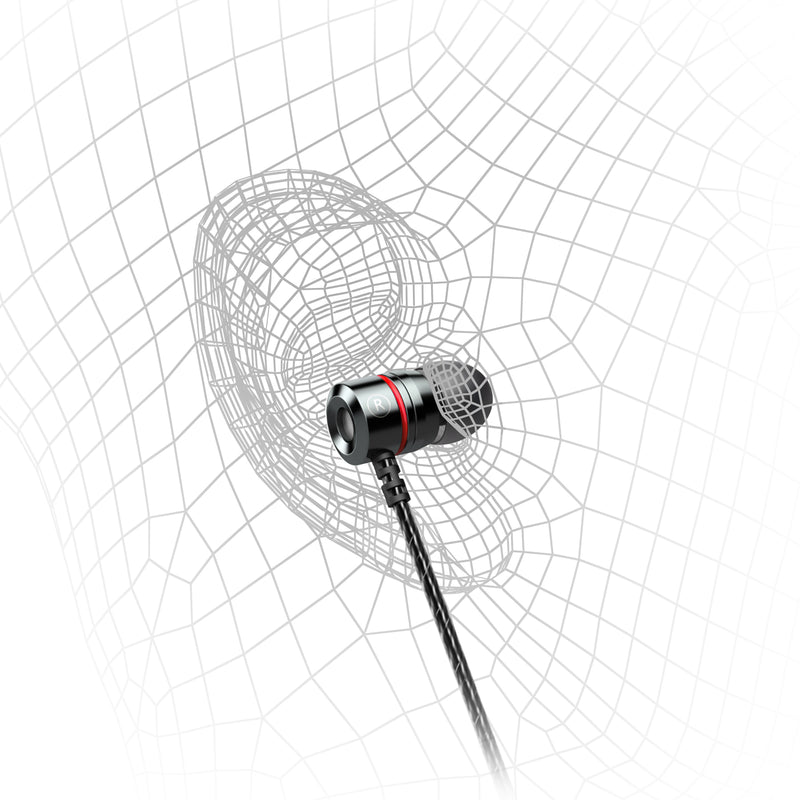 EP-X3 Metal Housing In-Ear Earbuds