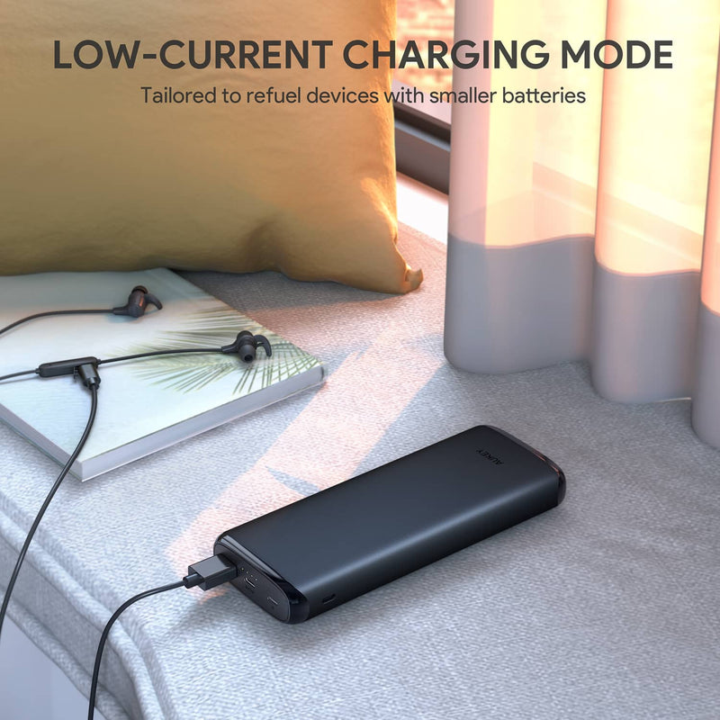 PB-Y23 18W Power Delivery USB C 20000mAh Power Bank With Quick Charge 3.0