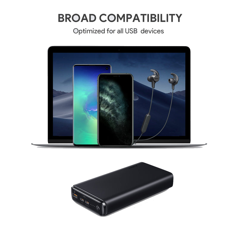 PB-Y24 65W PD 26800mAh Power Bank with Power Delivery & QC 3.0