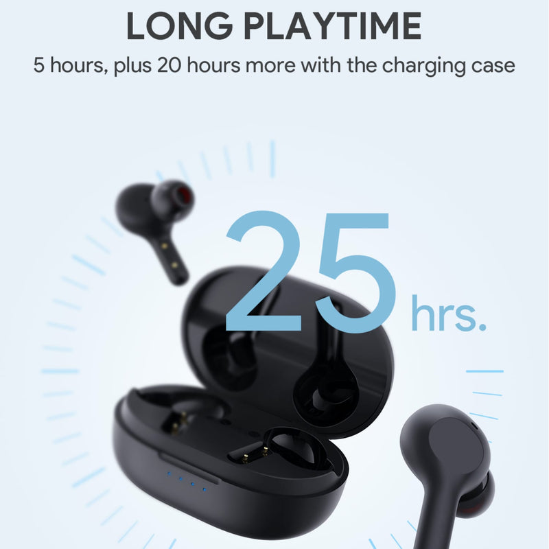 EP-T25 TWS Bluetooth 5.0 IPX5 True Wireless Earbuds