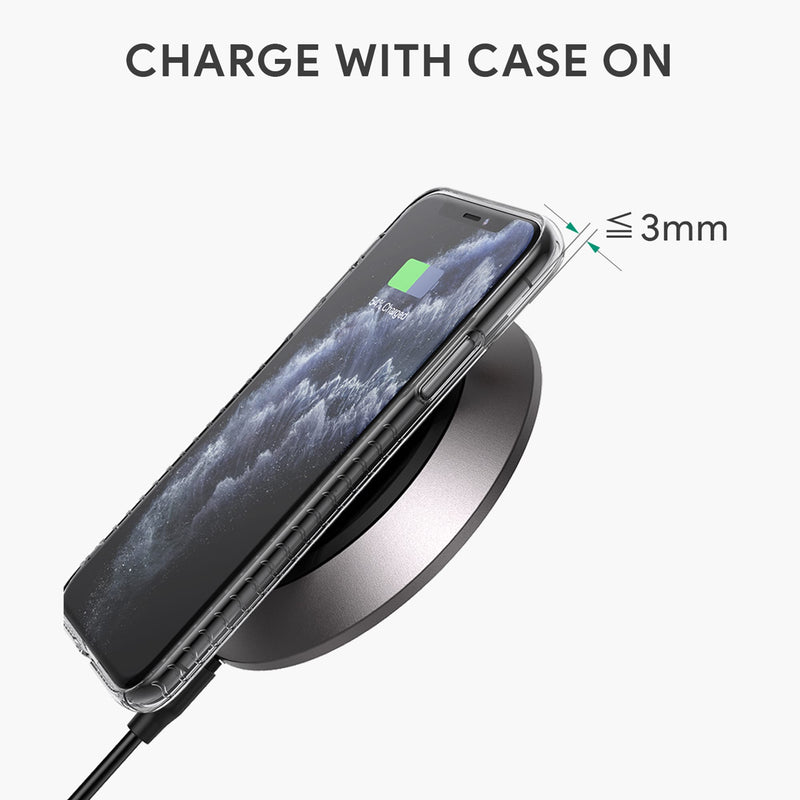 LC-Q11 15W Qi-Certified Wireless Charging Pad with Internal Cooling Fan