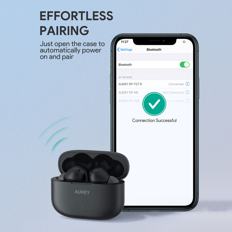 EP-T27 aptX TWS Bluetooth 5 True Wireless Earbuds with CVC 8.0 Noise Reduction