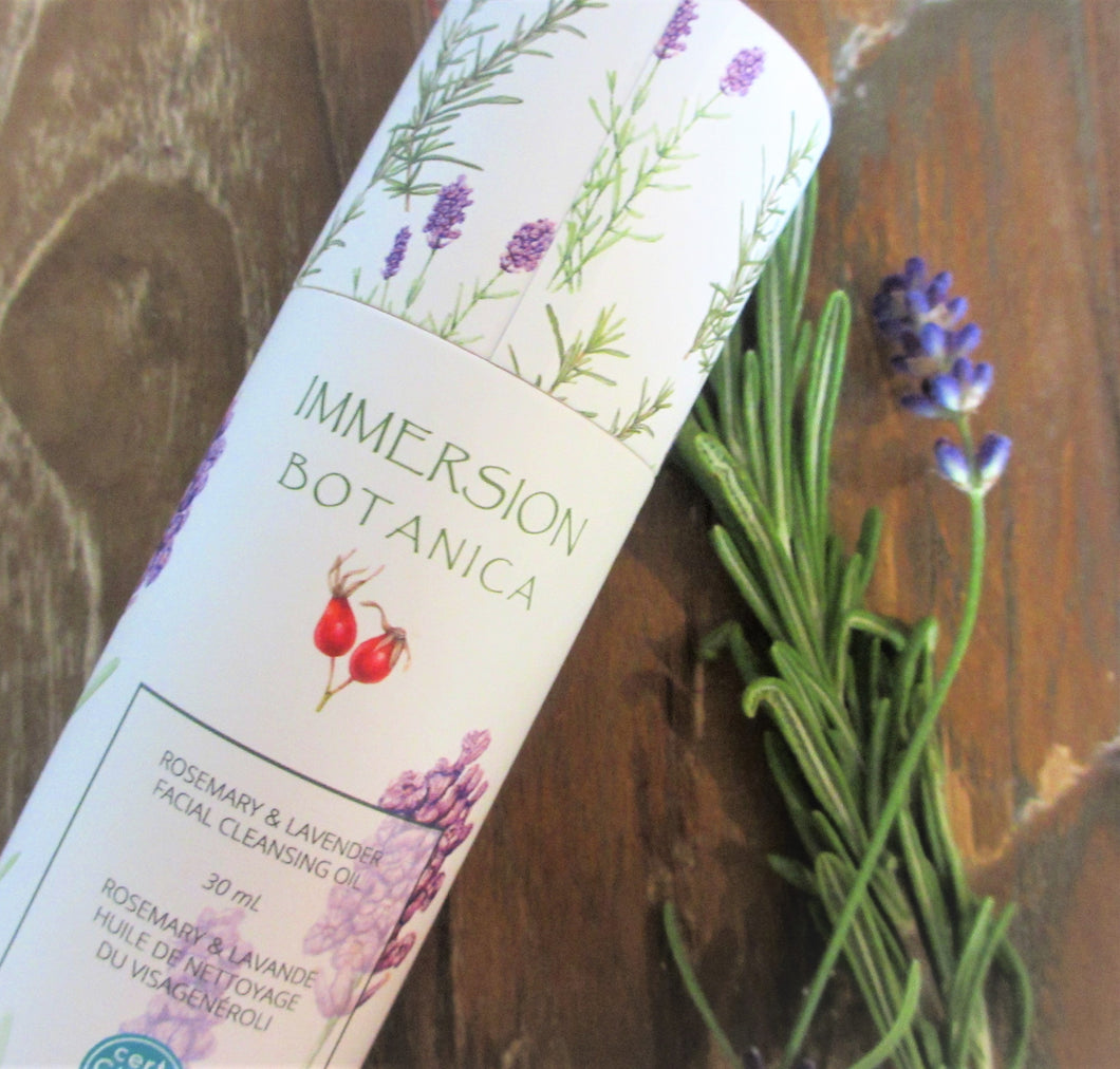 Rosemary & Lavender Cleansing Oil