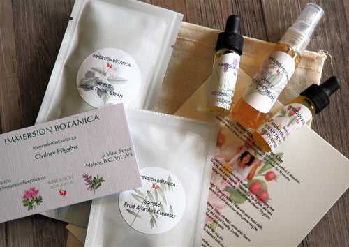 Essential Facial Sample Pack - Rosehip/Sage