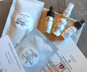 Essential Facial Sample Pack - Sea Buckthorn/Geranium