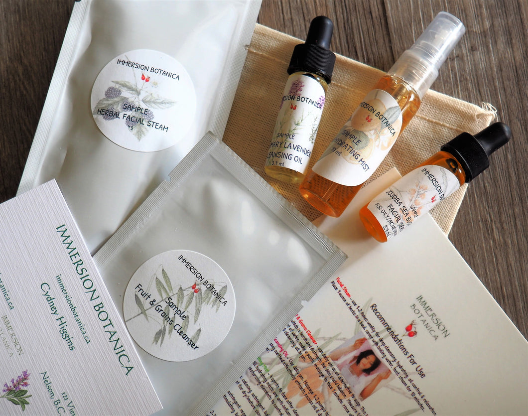 Essential Facial Sample Pack - Sea Buckthorn/Neroli