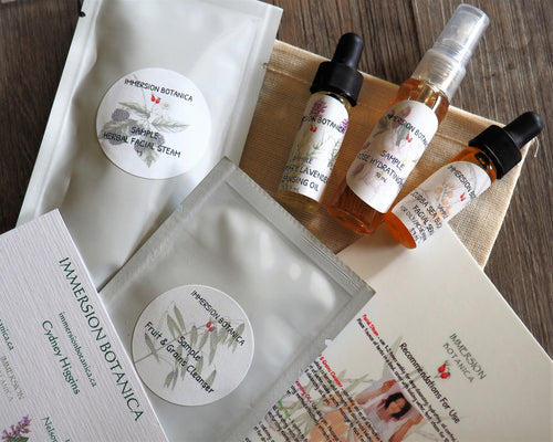 Essential Facial Sample Pack - Sea Buckthorn/Rose