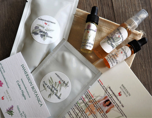 Essential Facial Sample Pack - Sea Buckthorn/Sage