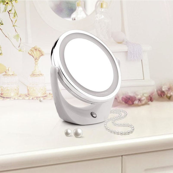 Magnifying LED Light up Mirror , LED Mirror