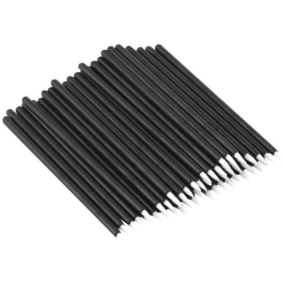 Disposable Eyeliner Brushes, 50 Pieces - One Stop Beauty