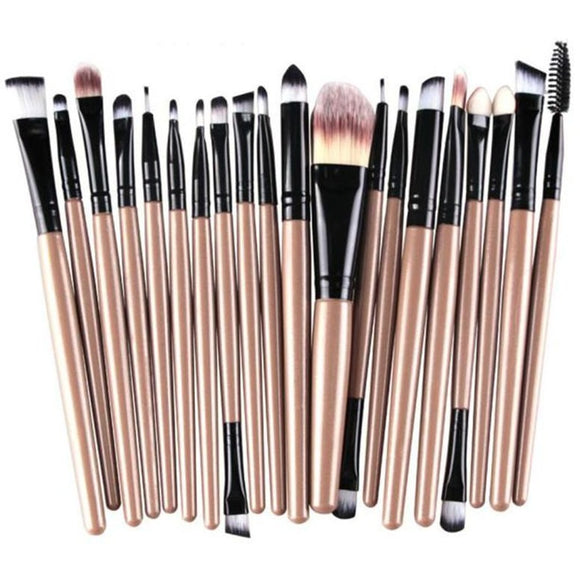 Professional Makeup Brush Set, 20 Pieces , Makeup Brush