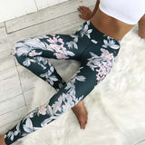 Floral Yoga Tights ,