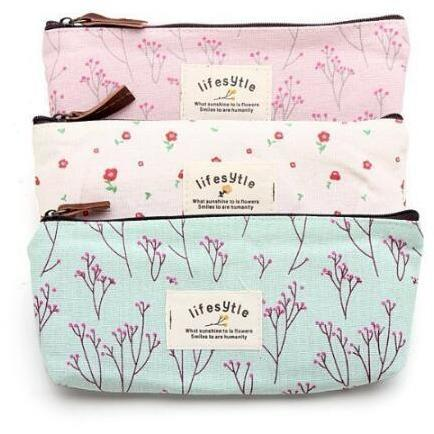 Canvas Makeup Bag - One Spot Beauty