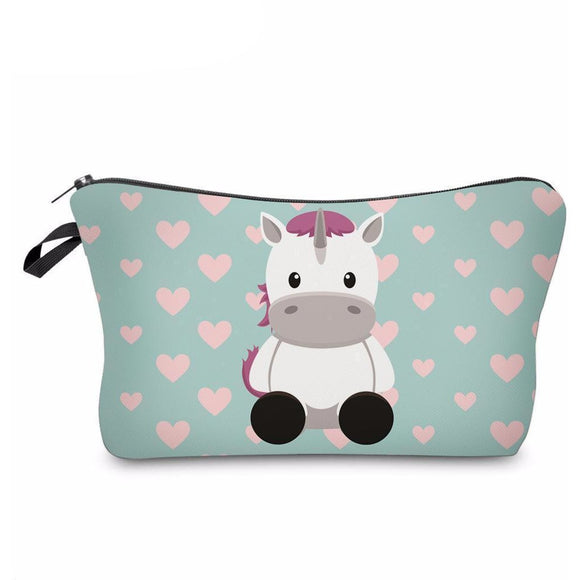 Cute Cosmetic Bag - Available in 8 Designs