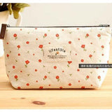 Canvas Makeup Bag , Makeup Pouches
