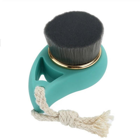 Charcoal Exfoliating Face Brush , Face Cleansing Brush
