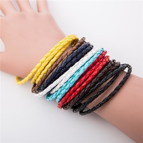 Leather Wrap Bracelet , bracelet