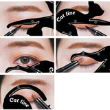 Winged Eyeliner Stencil for Cat Eye Makeup