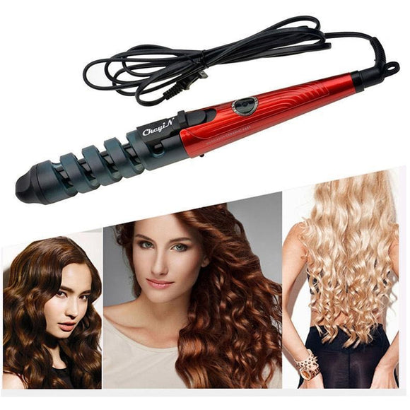 Ceramic Spiral Curling Wand