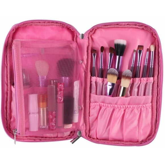 Makeup Brush Travel Case , Makeup Pouches