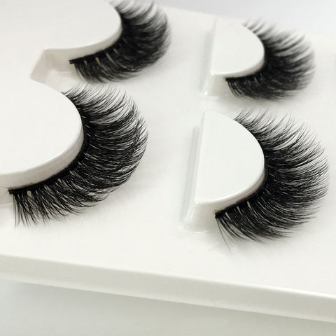 Long Lashes - Doll House - 3 Pairs