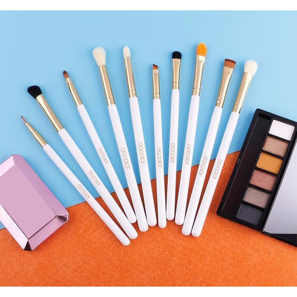Makeup Brushes for Eye Makeup, 6 Pieces , Mermaid Makeup Brushes