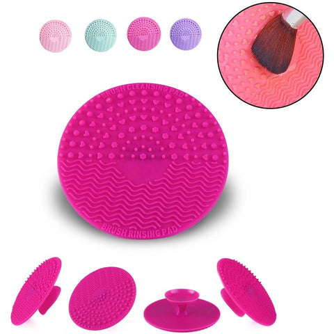 Makeup Brush Cleaning Mat - Available in 4 Colors , Make up Brush Cleaning
