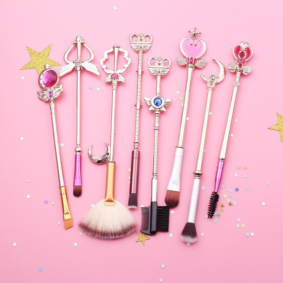 Sailor Moon Makeup Brushes , Makeup Brush Set