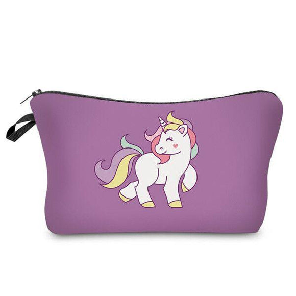 Unicorn Makeup Bag , Makeup Bag