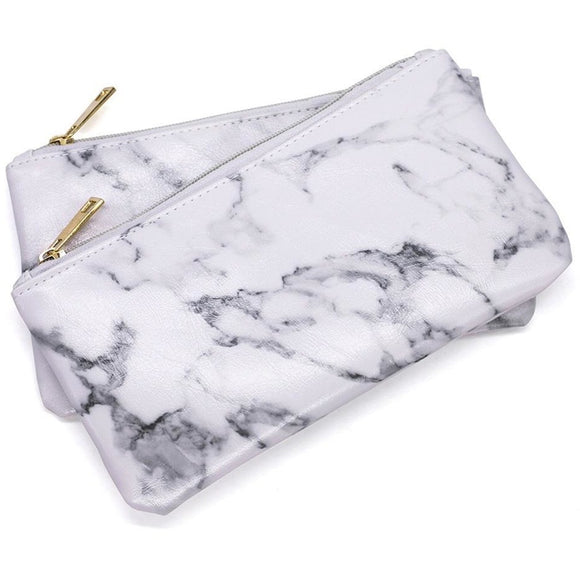 Marble Makeup Bag , Makeup Pouches