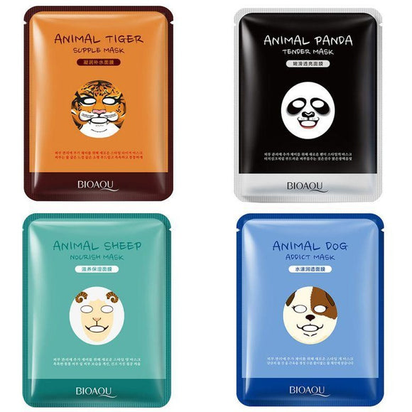 Korean Animal Face Masks , face sheet mask