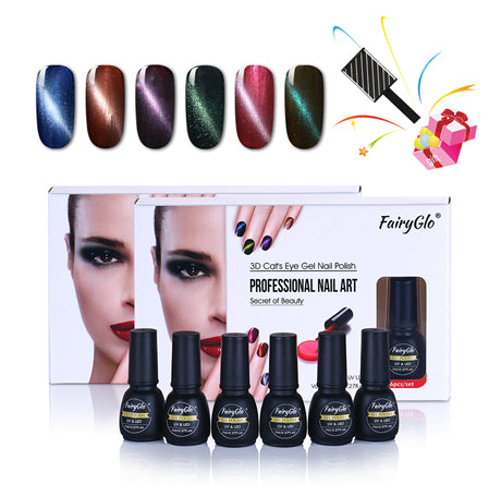 Cat Eye Nail Polish Set ,