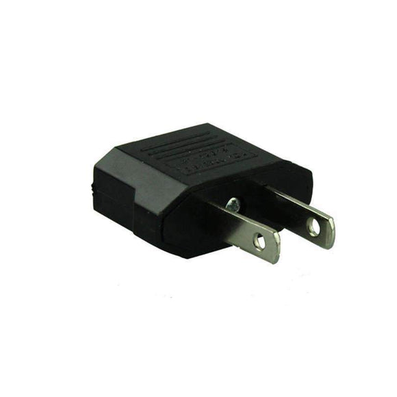 2pcs European to American Outlet Plug Adapter ,