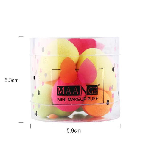 Beauty Blender Makeup Sponge Pack - 10 Pieces , Makeup Brush