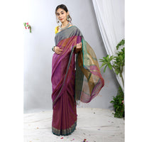 Noori Silk Cotton Ecoloom Saree