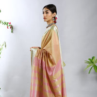 Tarangini Silk Cotton Ecoloom Saree
