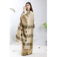 Paan Ecoloom Silk Cotton Saree