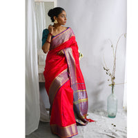 Lahari Ecoloom Pure Silk Saree